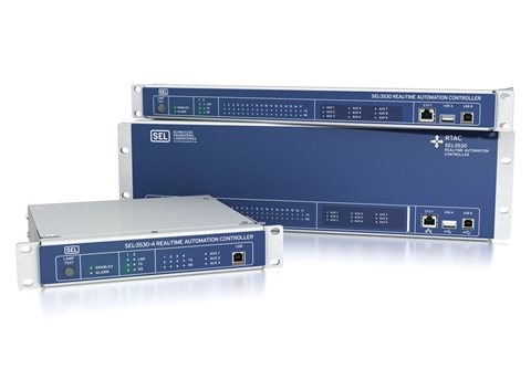 SEL-3530/3530-4 Real-Time Automation Controller (RTAC) | Schweitzer