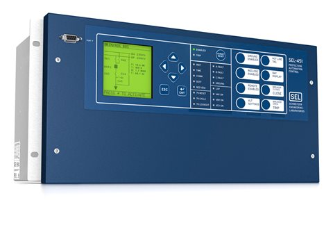 Wiring Diagram Access Control Panel : Sel 451 protection automation and bay control system schweitzer
