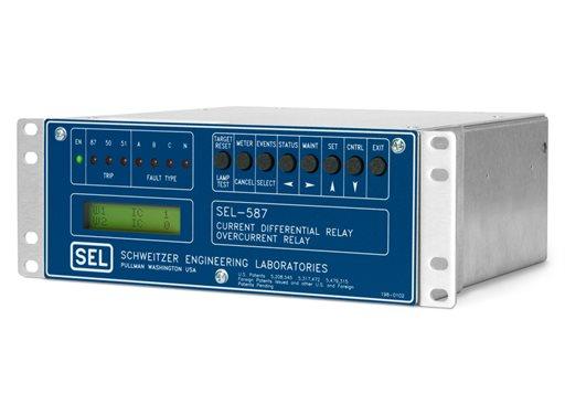 SEL-587 Current Differential Relay | Schweitzer Engineering