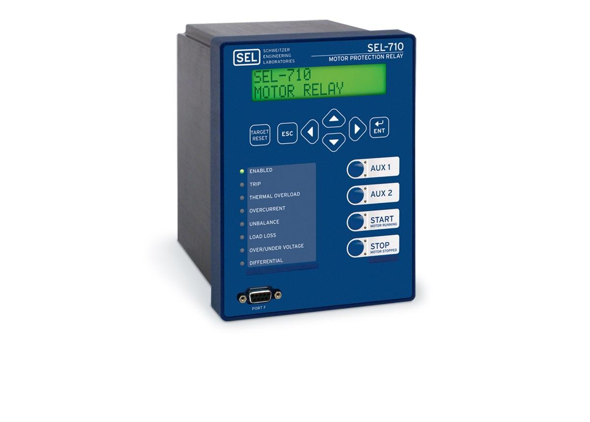 sel 710 motor protection relay schweitzer engineering laboratories rh selinc com GE Multilin F650 GE Multilin SR750 Manual