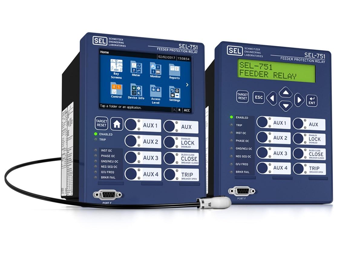 sel 751 feeder protection relay schweitzer engineering laboratories rh selinc com 24V Battery Wiring Diagram Marine Dual Battery Wiring Diagram