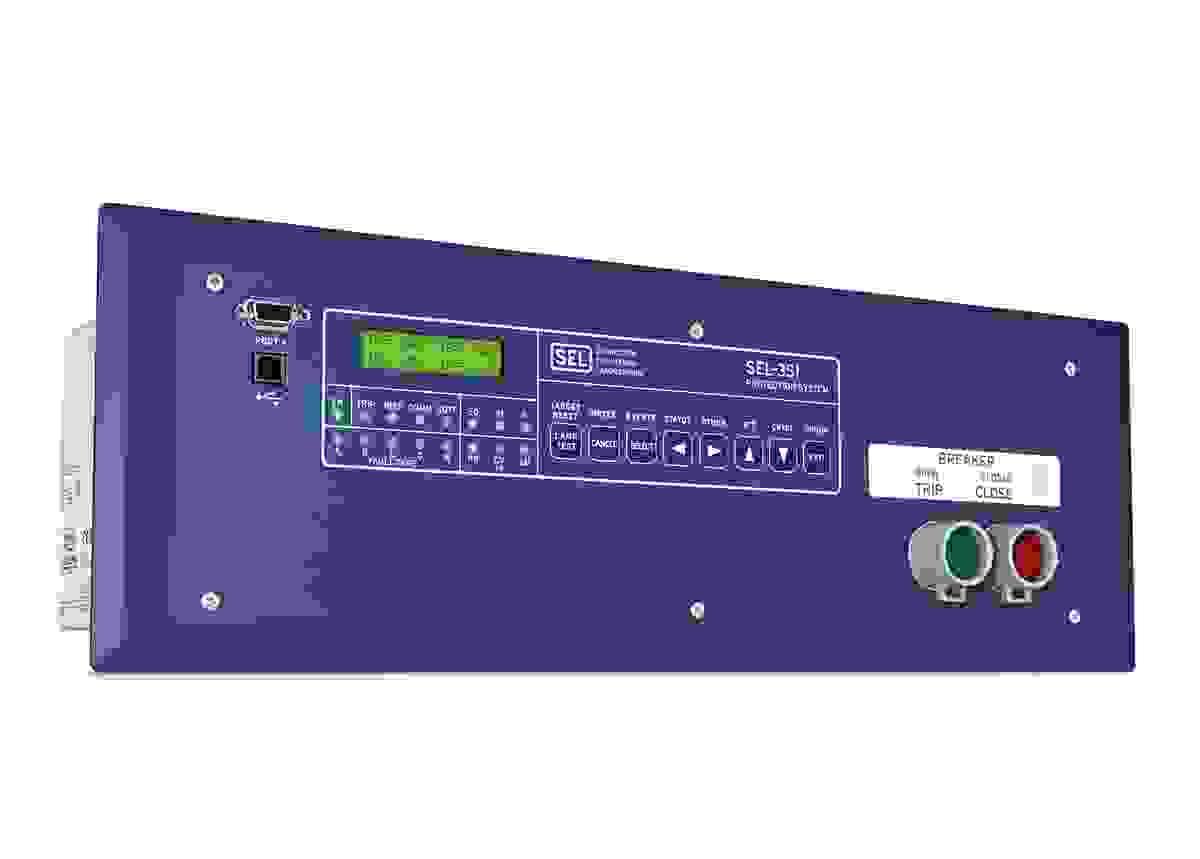 Sel 351 Protection System Schweitzer Engineering Laboratories
