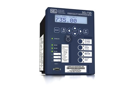 SEL-735 Power Quality and Revenue Meter | Schweitzer