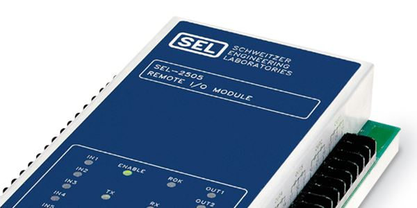 SEL-2505 Remote I/O Module | Schweitzer Engineering Laboratories