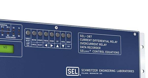 SEL-387 Current Differential and Overcurrent Relay