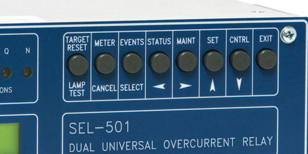 SEL-501 Dual Universal Overcurrent Relay | Schweitzer Engineering ...