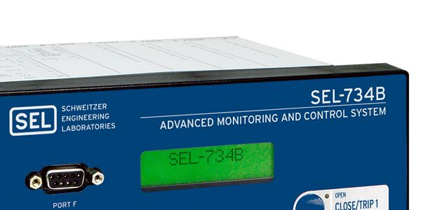 SEL-734B Advanced Monitoring and Control System   Schweitzer