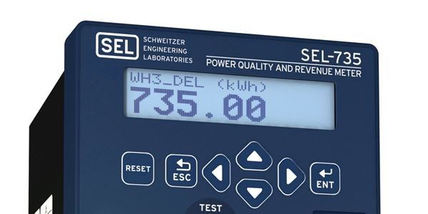 SEL-735 Power Quality and Revenue Meter | Schweitzer Engineering
