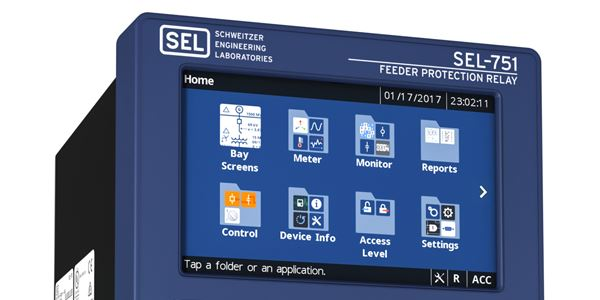 How to Set SEL-700 Series Bay Screen Settings Iec Relay Wiring Diagram on