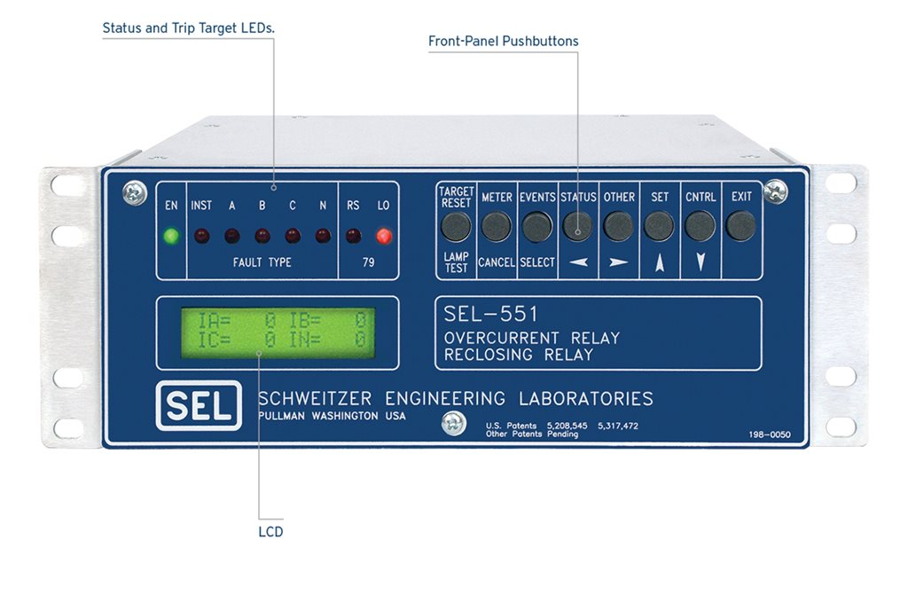 SEL-551 Overcurrent/Reclosing Relay | Schweitzer Engineering ...