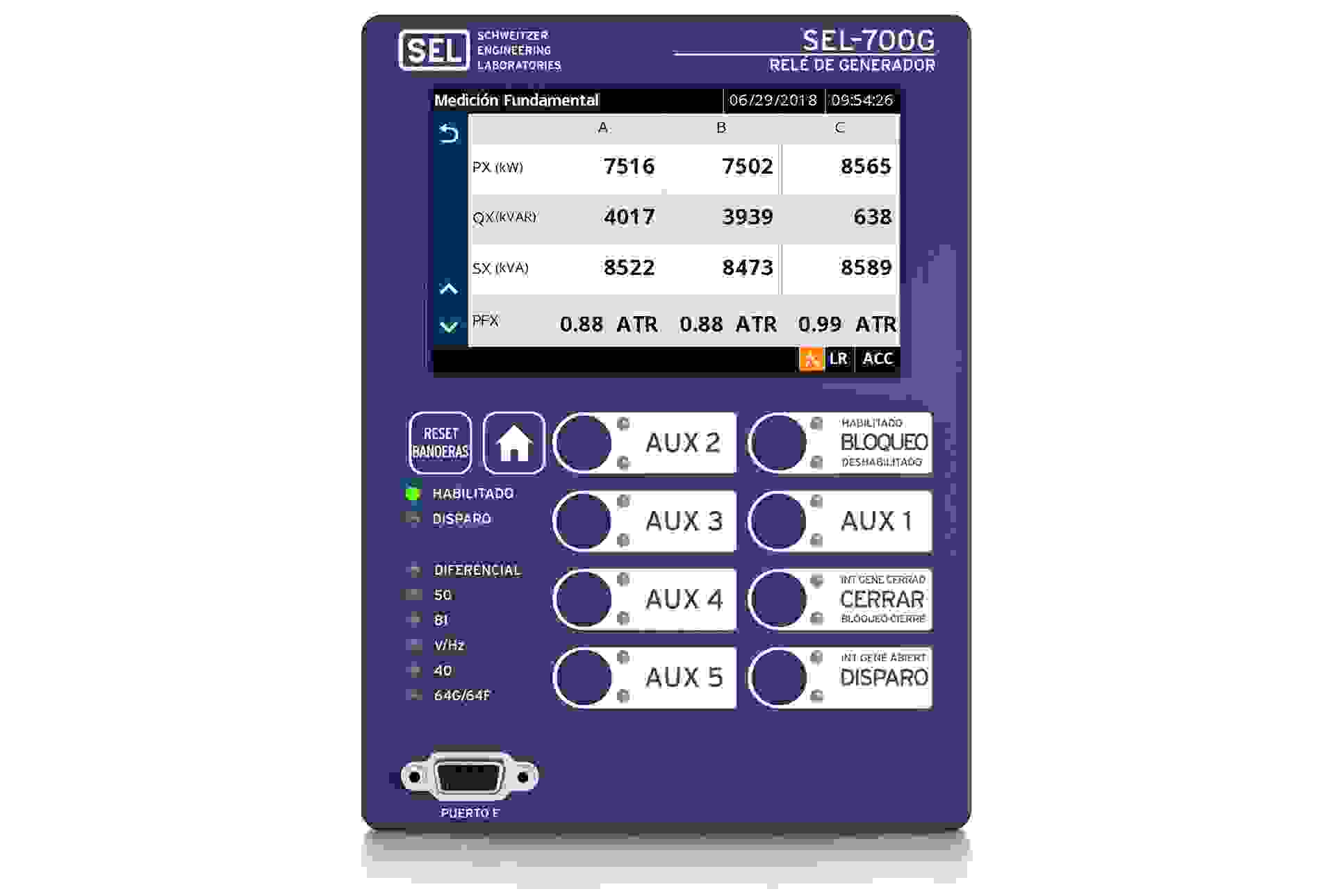 700G fundamental metering es