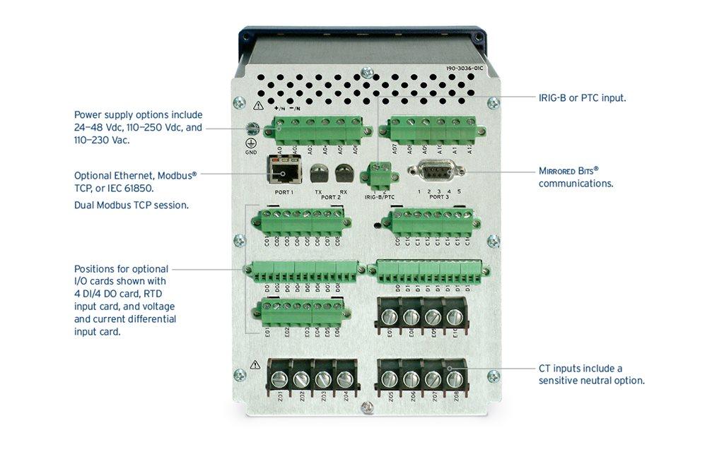 SEL-710 Motor Protection Relay | Schweitzer Engineering
