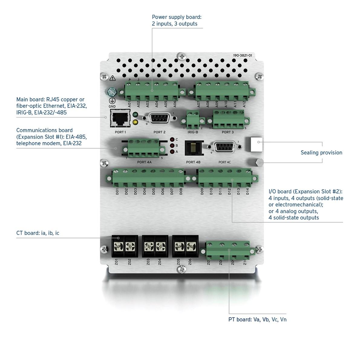 735_visual_back?n=63621542962000&preset=size col 12&bp=md sel 735 power quality and revenue meter schweitzer engineering sel 735 wiring diagram at n-0.co