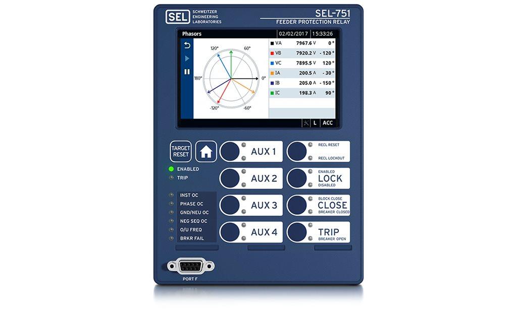 SEL-751 Feeder Protection Relay | Schweitzer Engineering Laboratories