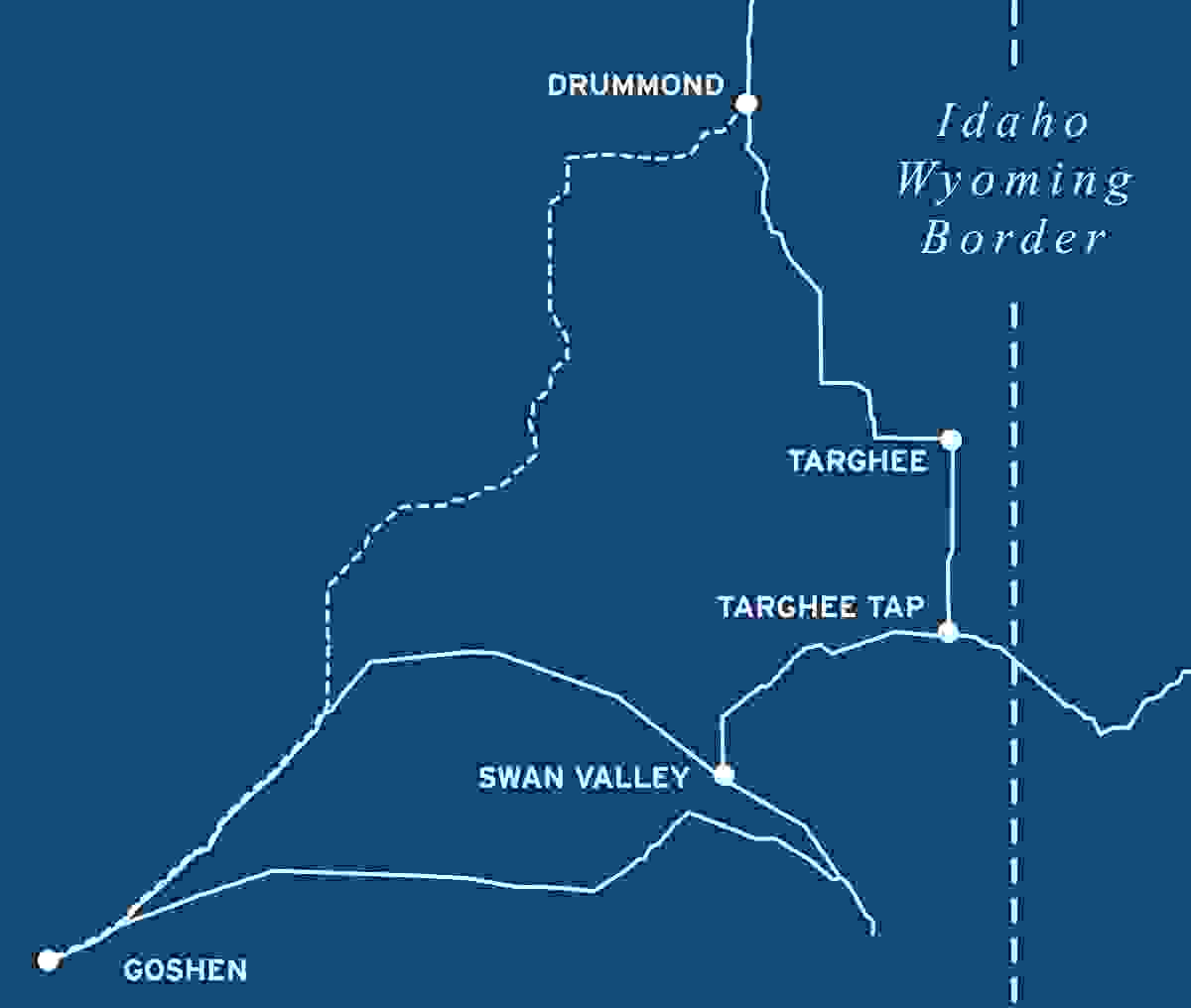 Goshen-Drummond Map