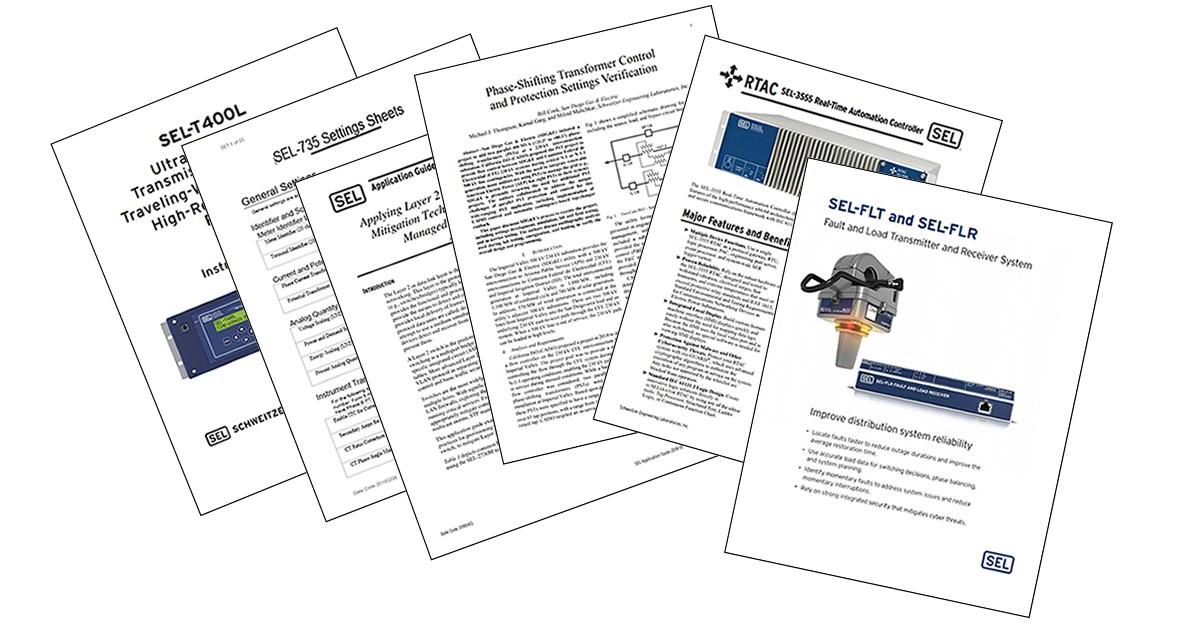 Technical Papers | Schweitzer Engineering Laboratories
