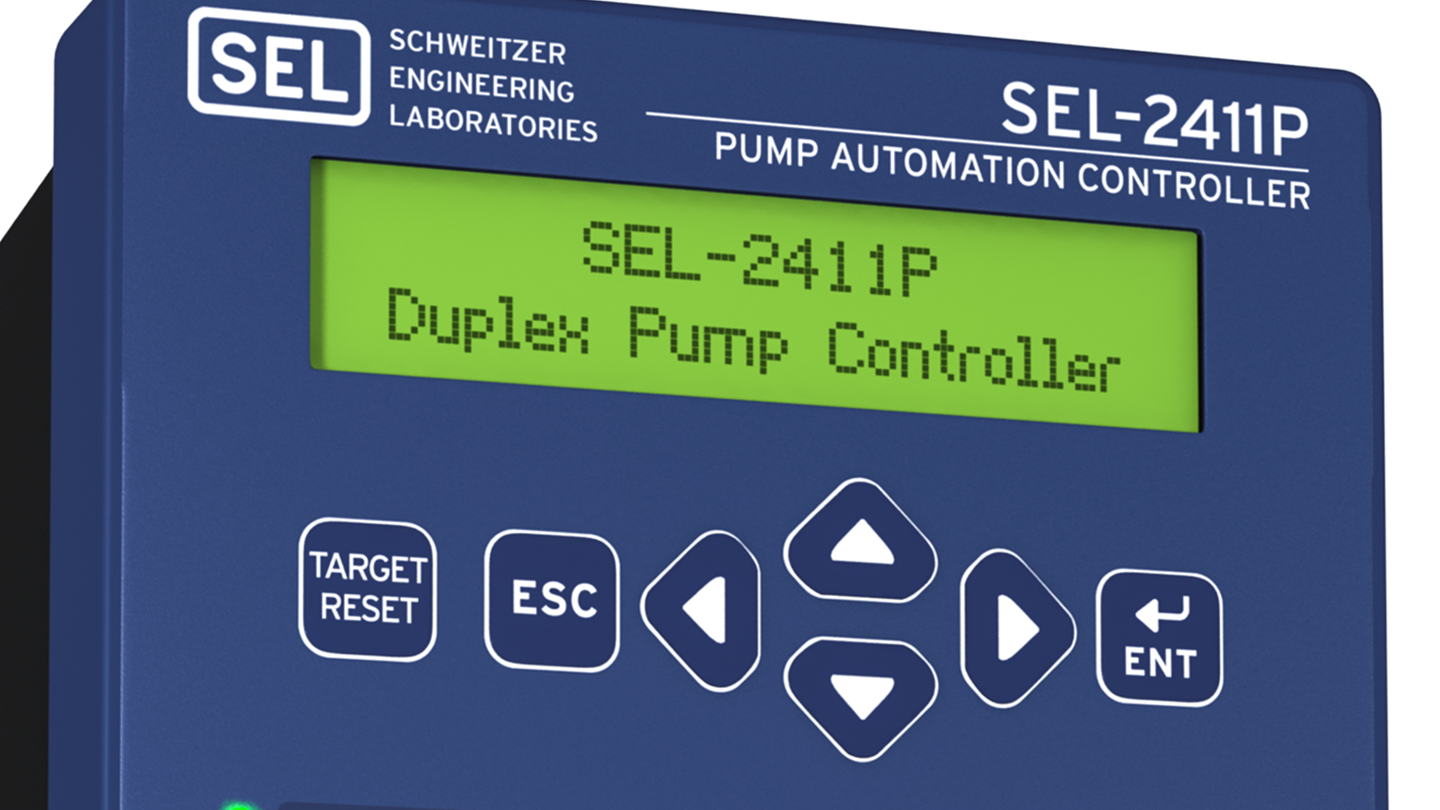 Introducing the SEL-2411P Pump Automation Controller