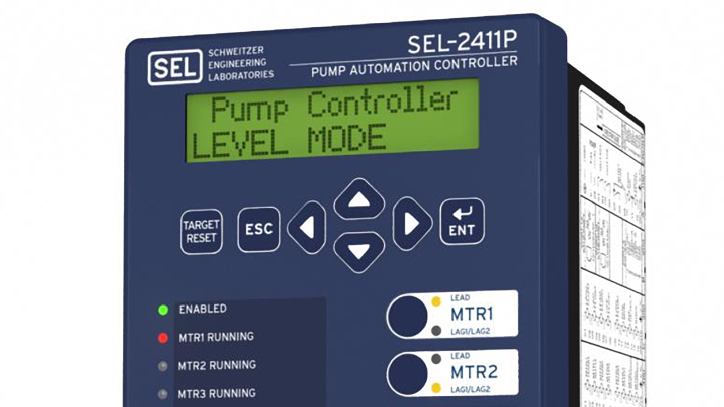How to SET the SEL-2411P Waste Lift Application Settings