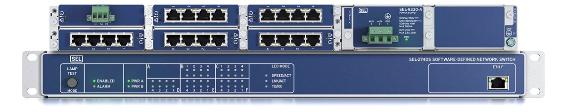 SEL-2740S Software-Defined Network Switch